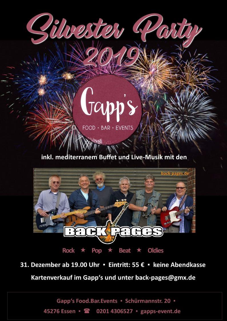 gapps-event.de - bei der Silvesterparty 2019 dabei sein